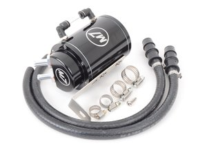ES#3088951 - 56-3M7303 - M7 Black Billet Aluminum Oil Catch Can Kit - N14/N12 Engine - Filter out the performance robbing oil mist in your crankcase vent system - M7 Speed - MINI