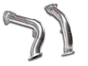 ES#3107672 - 767711kt4 - Manifold-Back Exhaust System - Resonated - Stainless steel system with high flow catalytic converter - Supersprint - Audi
