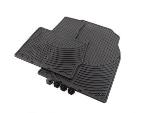 ES#196748 - 82550151189 - Front Rubber Floor Mat Set - Black - Protect your carpet from the elements - Genuine BMW - BMW