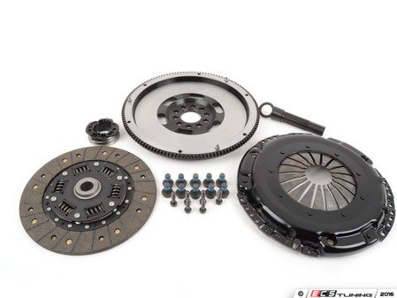 ES#3021876 - BFIVR228ST2 - BFI Stage 2 Clutch Kit - Forged Steel Flywheel (9.25lbs) - Includes a lightweight 4140 forged steel flywheel, performance pressure plate and carbon kevlar clutch disk. - Black Forest Industries - Volkswagen