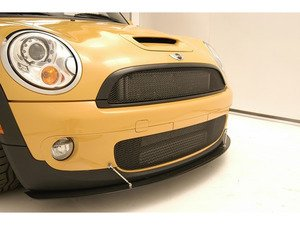 ES#3111621 - 56-4M7301  - M7 Ultimate Grille R56 Standard  Upper Black  - Mesh styles grille above the bumper - M7 Speed - MINI