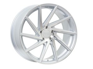 "ES#3111712 - F2920115112M28kt - 20"" F29 Wheels - Set Of Four - 20""x11"" ET28 5x112 - Machine Silver - F1R Wheels - Audi"