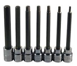 "ES#2938250 - ATD13787 - 7Pc. Extra Long Metric Hex Set 3/8"" Drive - Hex headed bolt are everywhere on modern cars. Be prepared with this complete set. - ATD Tools - Audi BMW Volkswagen Mercedes Benz MINI Porsche"