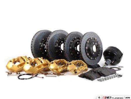 ES#2920631 - 34112358378 - Carbon Ceramic Retrofit Kit - Upgrade your M3/M4 with carbon ceramic brakes! - Genuine BMW M Performance - BMW
