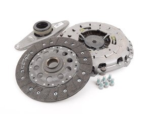 ES#2954300 - 21208631999 - Clutch Kit - 6 Speed Transmission - Includes clutch disc, pressure plate, and clutch release bearing - Genuine BMW - BMW