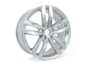 "ES#2743901 - 5G0601025G88Z - 18"" Durban - priced each - 18""x7.5"" ET51 5x112 - Brilliant Chrome - Genuine Volkswagen Audi - Volkswagen"