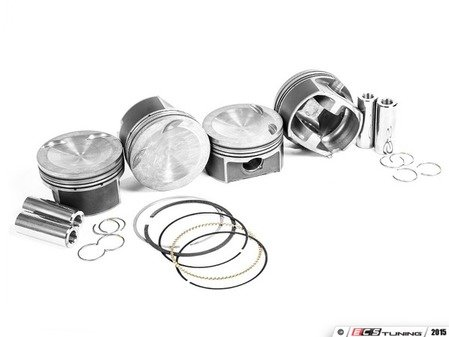 ES#3111676 - MAH-PVN2 - IE Spec Mahle Motorsport Performance Pistons - 83mm Bore - Forged Alloy pistons with 22mm wrist pin with +.5mm overbore - Integrated Engineering - Audi Volkswagen