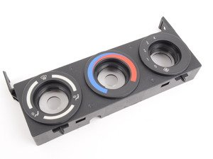 ES#177586 - 64118398898 - A/C Control Panel - Replace your cracked or faded panel - Genuine BMW - BMW