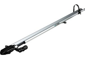 ES#3125853 - 1321 - JetLine - Silver  - Sturdy and aerodynamic bike rack designed to fit most crossbars - Rocky Mounts - Audi BMW Volkswagen MINI Porsche