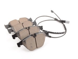 ES#3129516 - 34116850885 - Front Euro Ceramic Brake Pad Set - Offers excellent pedal feedback, low dust, and smooth initial bite. A favorite among BMW enthusiasts. - Akebono - BMW