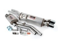 ES#3026157 - 781523-781326-M - Supersprint Euro Stainless Exhaust System  - 100% handcrafted in Italy. Stainless steel construction. Legendary Euro sound! - Supersprint - BMW