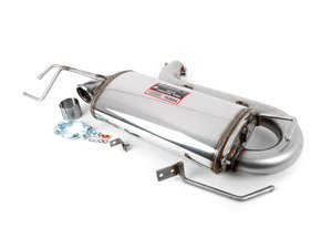 ES#3056584 - 762604 - Stainless Rear Muffler Section - 100% handcrafted in Italy. Stainless steel construction. Legendary sound! - Supersprint -