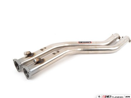 ES#3148888 - 044012KT - E46 M3 Supersprint Stepped Section 1 Straight Pipe - Supersprint -