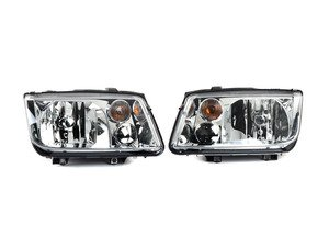 Es 2562282 1j5941017ajkt Oe Headlight Set Without Fog Lights With Amber