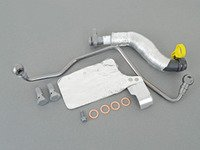 ES#3022374 - 11657534454KT2 - Turbo Oil Lines Kit - Completes turbo line replacement kit - Assembled By ECS - MINI