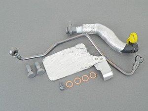 ES#3022374 - 11657534454KT2 - Turbo Oil Lines Kit - Completes turbo line replacement kit - Assembled By ECS - MINI