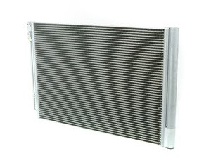 ES#2924979 - 64509391489 - A/C Condenser - Replace your damaged A/C condenser to restore proper performance - Genuine BMW - BMW