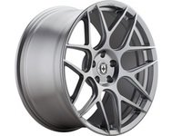 "ES#3129709 - 01H9090350GSkt1 - 19"" FF01 Style Wheels - Set Of Four - 19""x9"" ET35 5x112 57.1CB Liquid Silver - HRE - Audi"