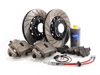 ES#3129778 - 341136465 -      OE Front Big Brake Kit (325x25) - Featuring ECS 2-piece rotors and Hawk HPS pads! - Assembled By ECS - BMW