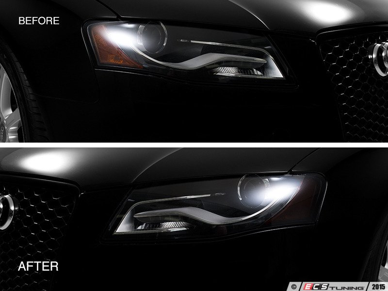 bezel led black amazon com ac for projector corner sport design audi halo headlights lights dp sedan w ring