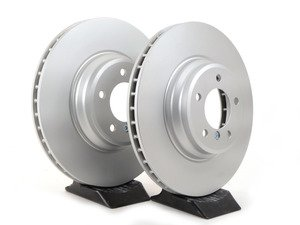 ES#3096674 - 34116770729KT - Front Brake Rotors - Pair (348x30) - Quality coated rotors from an original equipment supplier. - Pagid - BMW