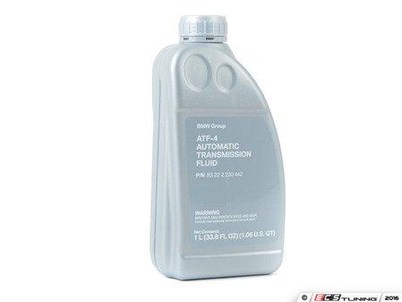 ES#2634270 - 83222220442 - BMW Automatic Transmission Fluid (ATF-4) - 1 Liter - For us in vehicles specifying BMW ATF-4, ExxonMobil LT71141, and Pentosin ATF-1. - Genuine BMW - BMW