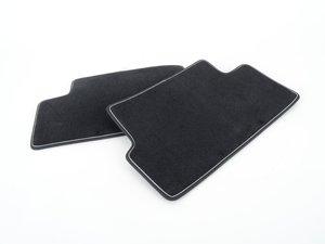 ES#2498941 - 51472213217 - Cosmopolitan MINI Floor Mats Rear Set - Priced As Set - Replace or upgrade your MINI Carpets - Genuine MINI - MINI