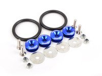 ES#3006092 - AR0600BL - Bumper Quick Release Kit - Blue - Universal kit to quickly release your front bumper - Arospeed - BMW Volkswagen