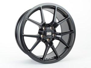 """ES#3209635 - 88.10.13bKT1 - 18"""" RSE10 - Set Of Four - 18""""x8"""", ET45, 5x112, 57.1mm CB - Satin Black - Neuspeed - Audi Volkswagen"""