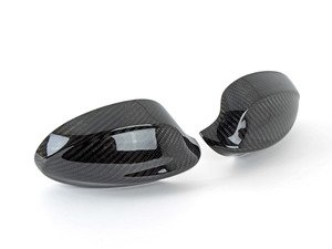 ES#3037382 - DC-0001 - Dry Carbon Fiber Mirror Cover Caps - Add aggressive exterior styling in minutes - AUTOTECKNIC - BMW
