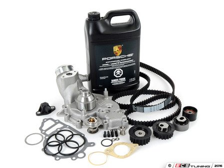 ES#2574811 - 94410515704KT7 - ECS Ultimate Timing Belt Kit With Water Pump - Everything you need to perform a complete timing belt service on your 944 Turbo - Assembled By ECS - Porsche