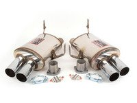 ES#3033202 - 044936.044906 - Supersprint Rear Race Mufflers - Increased performance and sound - Supersprint - BMW