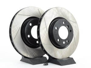 ES#3025758 - 34112227171.2GS - Gas-Slotted Brake Rotors - Front  - This design removes performance robbing outgas and material dust caused by braking - StopTech - BMW