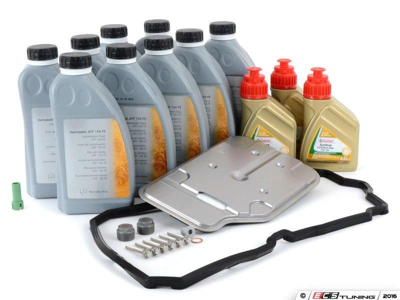 Genuine mercedes benz 2222772000kt automatic for Mercedes benz transmission fluid