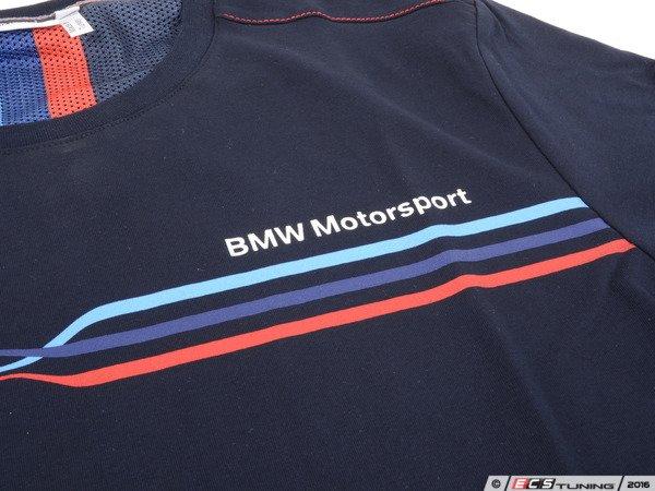 genuine bmw 80142285856 bmw motorsport t shirt men. Black Bedroom Furniture Sets. Home Design Ideas