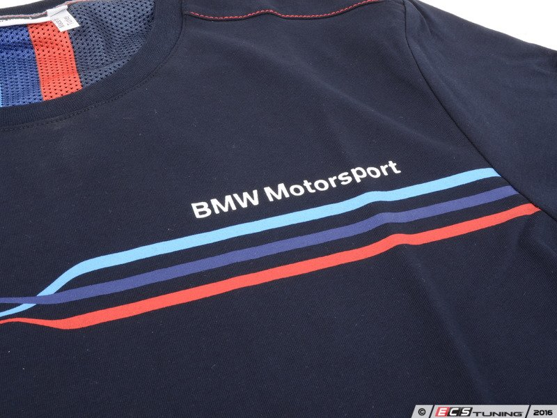genuine bmw 80142285858 bmw motorsport t shirt men. Black Bedroom Furniture Sets. Home Design Ideas