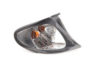 ES#3131351 - 63137165850 - Turn Signal Light with White Lens and Black Trim - ULO - BMW