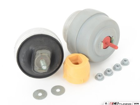 ES#3028746 - 8E0199379BKKT1 - Engine Mount Kit - Complete set of engine mounts and hardware to keep vibrations in check - Assembled By ECS - Audi
