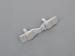 ES#1670586 - 1294900044 - Bracket Plate - Priced Each - Front Exhaust Pipe (Catalyst) Mounting To Mounting Bracket - Genuine Mercedes Benz - Mercedes Benz