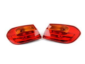 ES#3075318 - 63217296098KT - European Outer Tail Light Set - Upgrade to Euro-spec amber turn signals! Includes left and right tail light assemblies. - Genuine European BMW - BMW