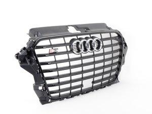 ES#2806224 - 8V5853651ECKA - S3 Grille Assembly - Black Optics - Clean up or change your look - Genuine Volkswagen Audi - Audi