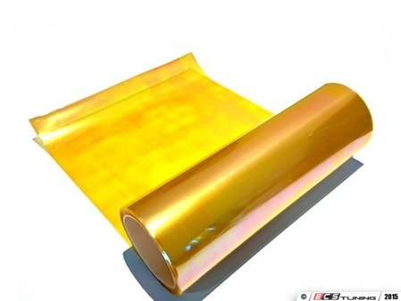"""ES#3131455 - NE0-004-1212 - Dragon Laminates - NEO Gold - 12"""" x 12"""" - Completely transform the look of your vehicle's lights while adding a layer of protection - Dragon Laminates  - Audi BMW Volkswagen Mercedes Benz MINI Porsche"""