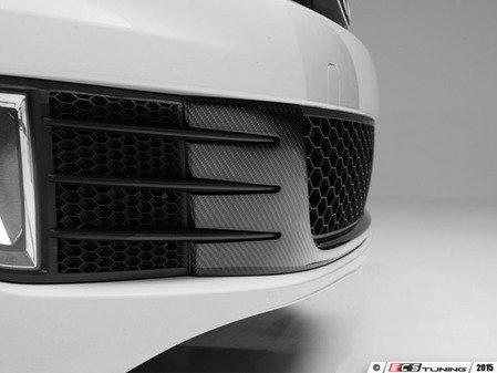 ES#3129534 - 015436ecs06aKT - Center Grille Applique - Carbon Fiber - Carbon fiber center piece for the three lower grilles - ECS - Volkswagen