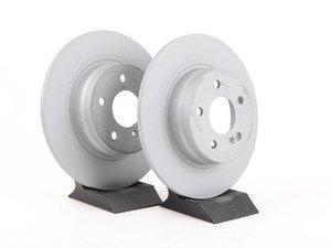 ES#2702746 - 2044231512KT3 - Rear Brake Rotors - Pair - Does not include new brake rotor securing screws - Zimmermann - Mercedes Benz