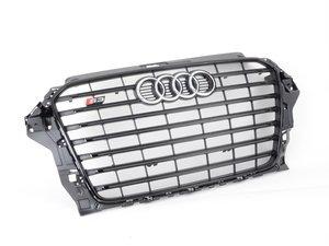 ES#2796409 - 8V5853651DCKA - S3 Grille Assembly - Black Optics - Clean up or change your look - Genuine Volkswagen Audi - Audi