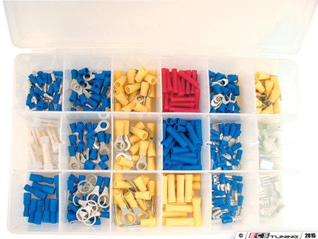 ES#2938438 - ATD355 - 360 Pc. Terminal Assortment - You never know when you will need a terminal - ATD Tools - Audi BMW Volkswagen Mercedes Benz MINI Porsche