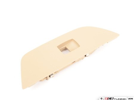 ES#2954473 - 51412992944 - Beige Window Switch Trim - Rear Right - Replace your damaged trim - Genuine BMW - BMW