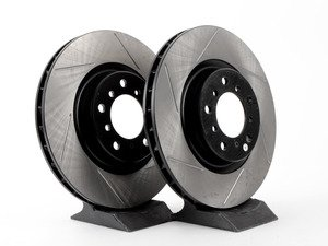 ES#3025769 - TMS1391 - Gas-Slotted Brake Rotors - Front  - This design removes performance robbing outgas and material dust caused by braking - StopTech - BMW