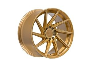 "ES#3137078 - f291785mg38KT - 17"" F29 - Set Of Four  - 17""x8.5"" ET38 5x100/5x114.3 - Machine Gold - F1R Wheels - Volkswagen"