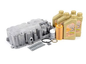 ES#2603181 - 06F103601L - Oil Pan Installation Kit - Everything needed for a smooth oil pan replacement. - Genuine Volkswagen Audi - Volkswagen